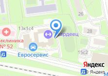 Компания «Фитнес-Холл» на карте