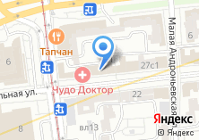 Компания «Сопико» на карте