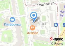 Компания «Иварус» на карте