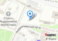 Компания «Храм Димитрия Донского близ Спасо-Андроникова монастыря» на карте