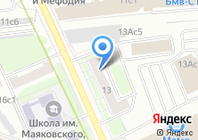Компания «А-медик» на карте