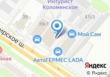 Компания «АкваСити» на карте