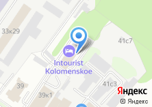 Компания «Интурист Коломенское» на карте