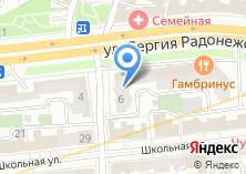 Компания «Почта Банк» на карте