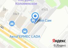 Компания «Мега Моторс» на карте