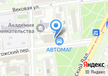 Компания «РегионИнвестБанк» на карте