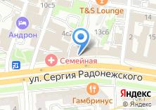 Компания «АКБ ПЕРЕСВЕТ» на карте
