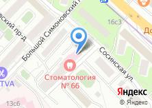 Компания «Стоматологическая поликлиника №66» на карте