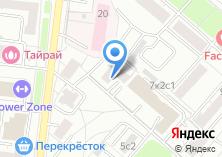 Компания «Летчика Бабушкина-1» на карте
