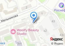 Компания «Моспромстрой» на карте