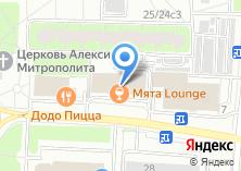 Компания «МЕРКУРИЙ-АРТ» на карте