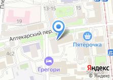 Компания «Московский тамада» на карте