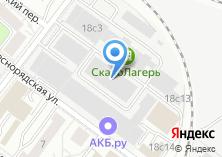 Компания «Русская лента» на карте