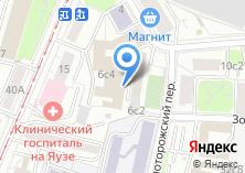 Компания «Мебпром» на карте