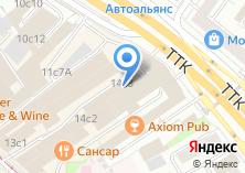 Компания «Мир электроники и техники» на карте