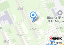 Компания «Совет ветеранов района Нагатинский Затон» на карте