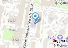 Компания «Московский вечерний авиационный технологический техникум» на карте