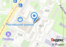 Компания «Рогожские Торговые Ряды» на карте