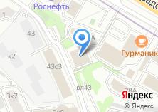 Компания «КОНТО» на карте
