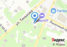 Компания «Виднофф» на карте
