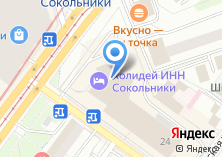 Компания «АКБ Банк Москвы» на карте