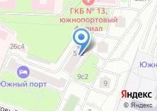 Компания «Московская государственная академия водного транспорта» на карте