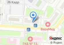 Компания «Мебель Project» на карте