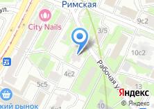 Компания «Почтовое отделение №109544» на карте