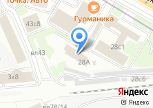 Компания «Skodapart» на карте