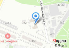 Компания «22-й отряд ФПС по г. Москве» на карте