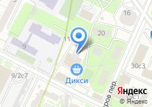 Компания «РОСА» на карте