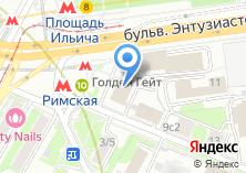 Компания «Строящееся административное здание по ул. Энтузиастов шоссе» на карте