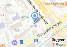 Компания «Bride in Moscow» на карте