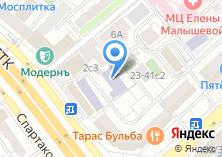 Компания «Московский технико-экономический колледж» на карте