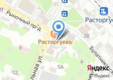 Компания «Расторгуев» на карте