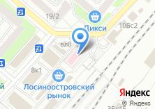 Компания «Москва-Лосиноостровская» на карте