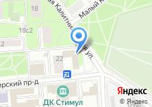 Компания «Кафе-Тур» на карте