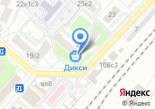 Компания «Московский банк Сбербанка России» на карте