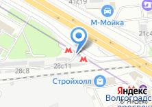 Компания «Станция Волгоградский проспект» на карте