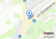 Компания «Автостоянка на ул. Бондаренко» на карте