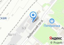 Компания «Твой салон» на карте