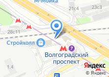 Компания «Закажитеунас.рф» на карте