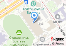 Компания «Олимпийский центр им. братьев Знаменских» на карте