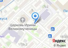 Компания «Со-действие» на карте