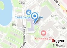 Компания «Медицинское училище №21» на карте