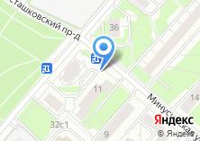 Компания «Магазин цветов на Минусинской» на карте