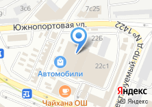 Компания «Автотаун» на карте