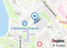 Компания «Московский архитектурный центр» на карте