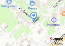 Компания «Венские пекарни» на карте