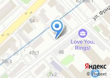 Компания «Автостоянка на ул. Фридриха Энгельса» на карте